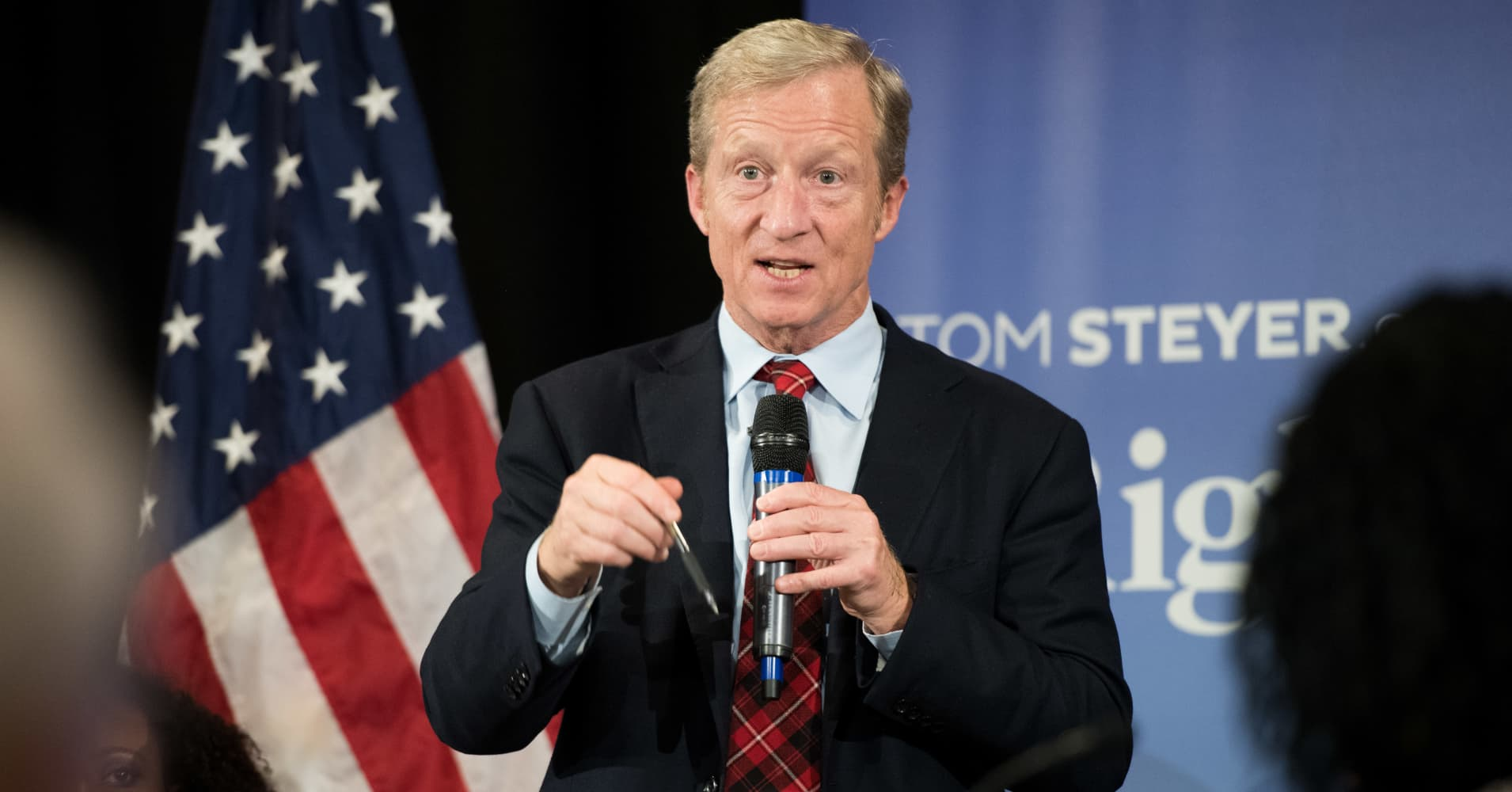 Billionaire Tom Steyer will only support Democratic presidential candidates who want to impeach President Trump