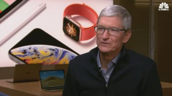 Watch CNBC's full interview with Apple CEO Tim Cook