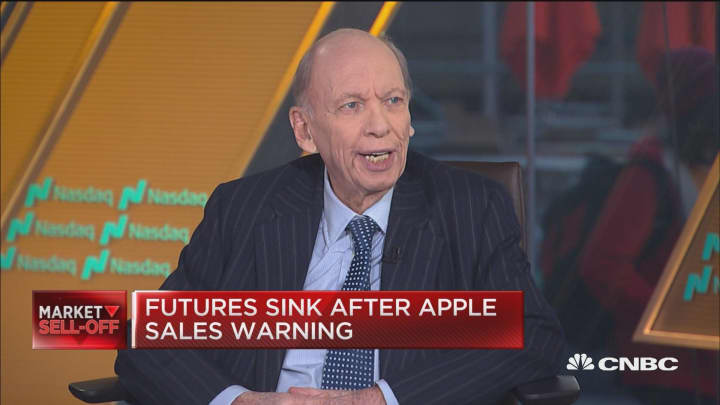 Here are Blackstone vice chairman Byron Wien's predictions for 2019