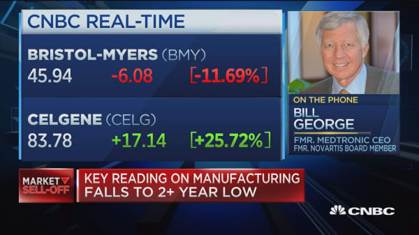 Celgene deal is a 'bold', says former Medtronic CEO