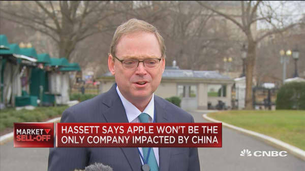 Hassett: Apple won't be the only company impacted by China