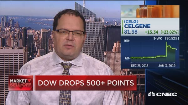 This is a good deal for Celgene, says Bernstein senior analyst
