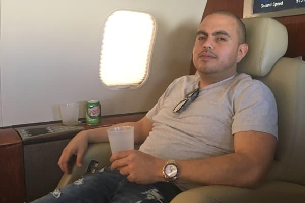 JetSmarter member Leo Galvez