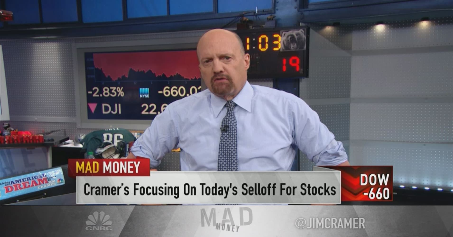 Cramer: Time to buy recession-proof stocks like Clorox, PepsiCo, Coca-Cola