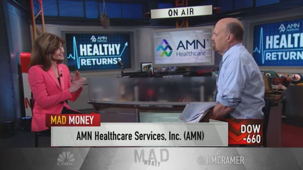 CEO of staffing solutions provider AMN: Aging US population is creating major job shortages in health care