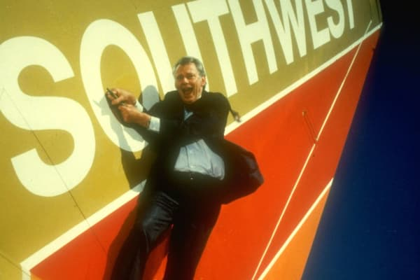 Herb Kelleher, Southwest Airlines co-founder and former CEO