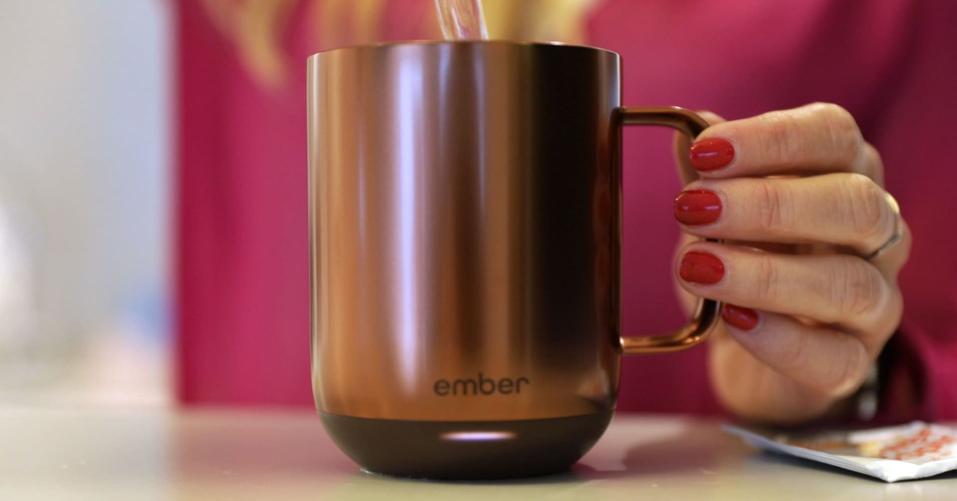 This smart mug keeps your drink at the perfect temperature, but it will cost you a hefty $80