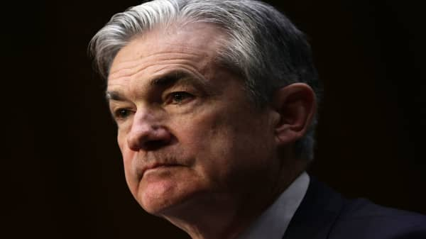 Powell says Fed 'will be patient' with monetary policy