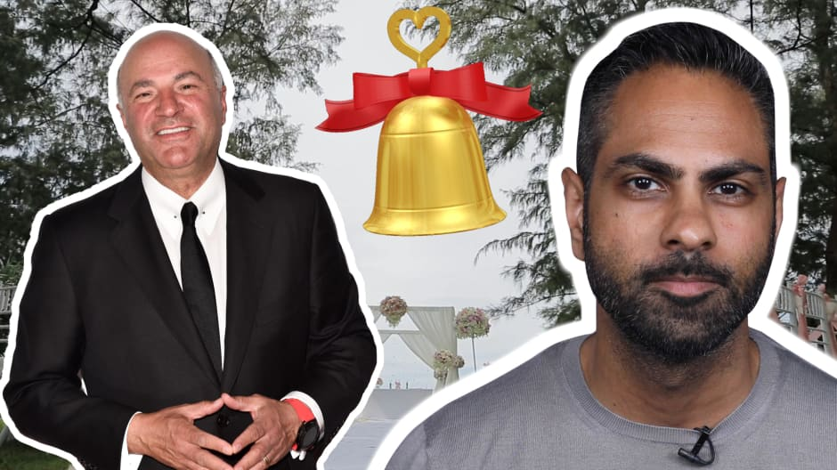 Kevin O'Leary vs. Ramit Sethi: Are weddings worth the splurge?