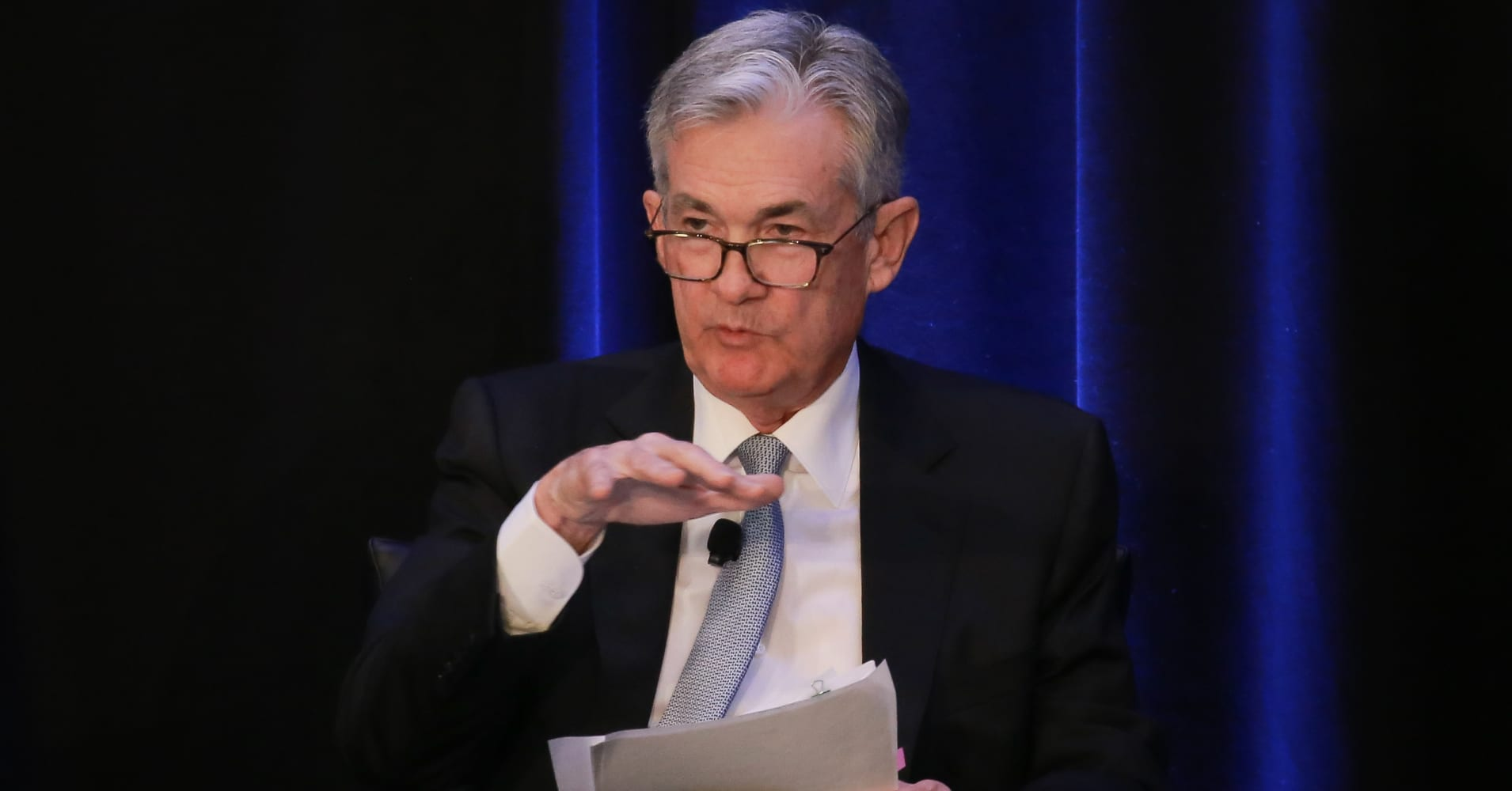 Fed chief Powell just walked back his autopilot remark and the financial markets love it
