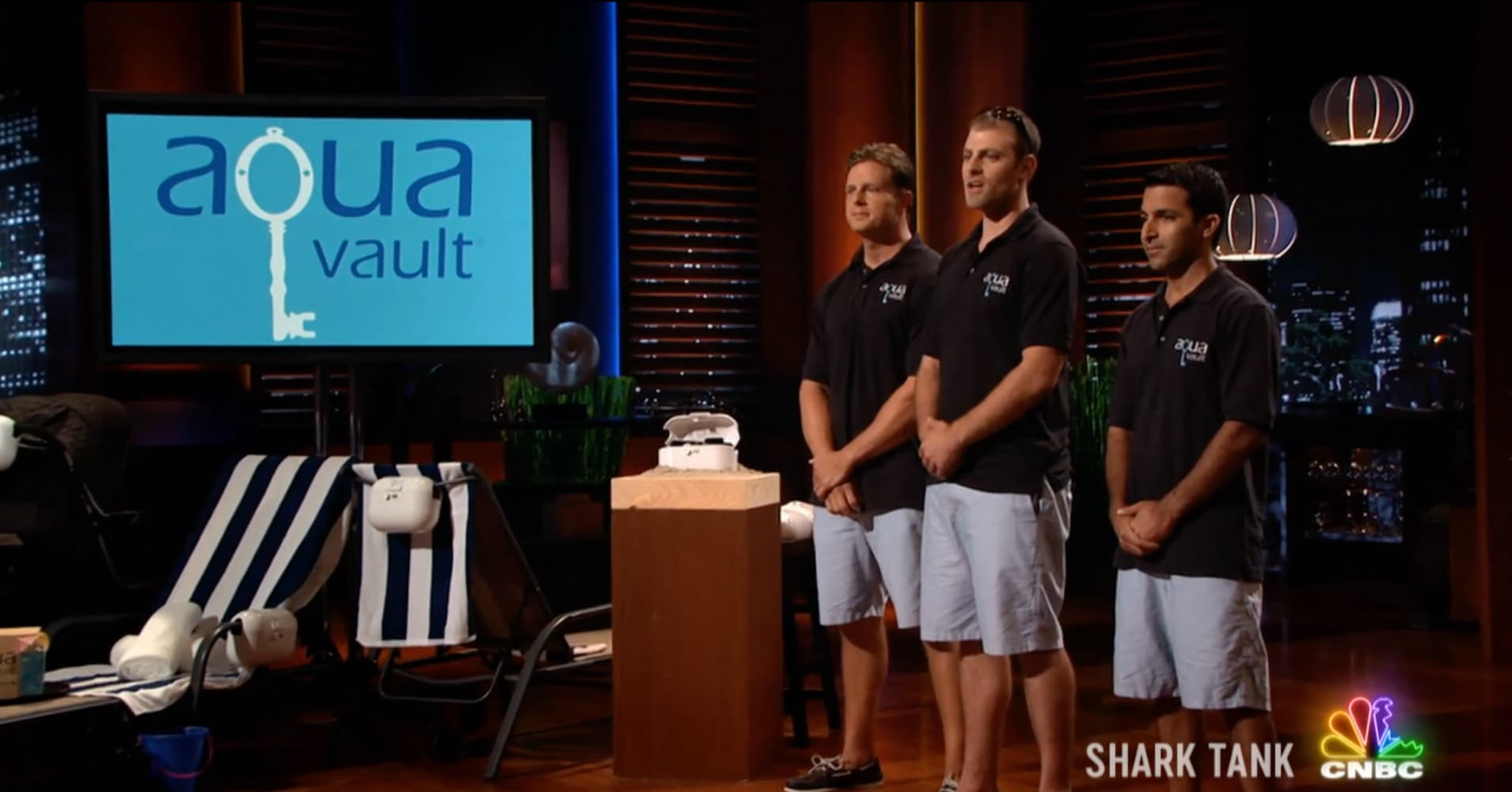 'Shark Tank' hopeful AquaVault helps give vacationers peace of mind