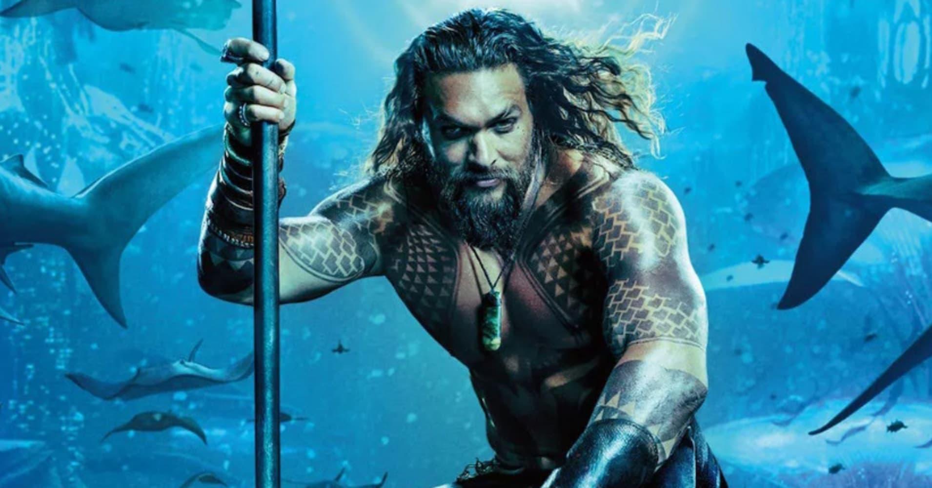 'Aquaman' tops billion-dollar benchmark thanks to international ticket sales