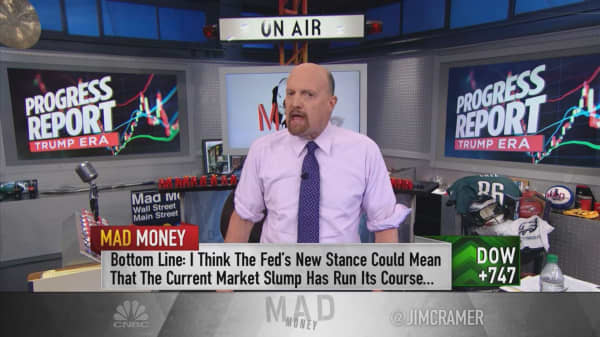 Fed may have put Trump rally back on course, says Cramer