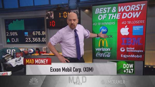 Cramer's favorite Dow stocks for 2019