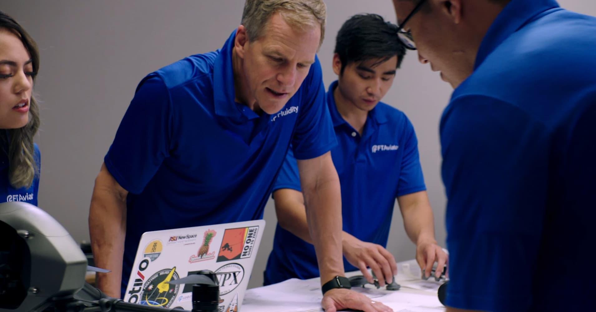 NASA Astronaut Scott Parazynski has a start-up Fluidity Technologies