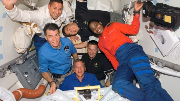 Part of the STS-120 crew, tasked with completing the primary assembly of the International Space Station.