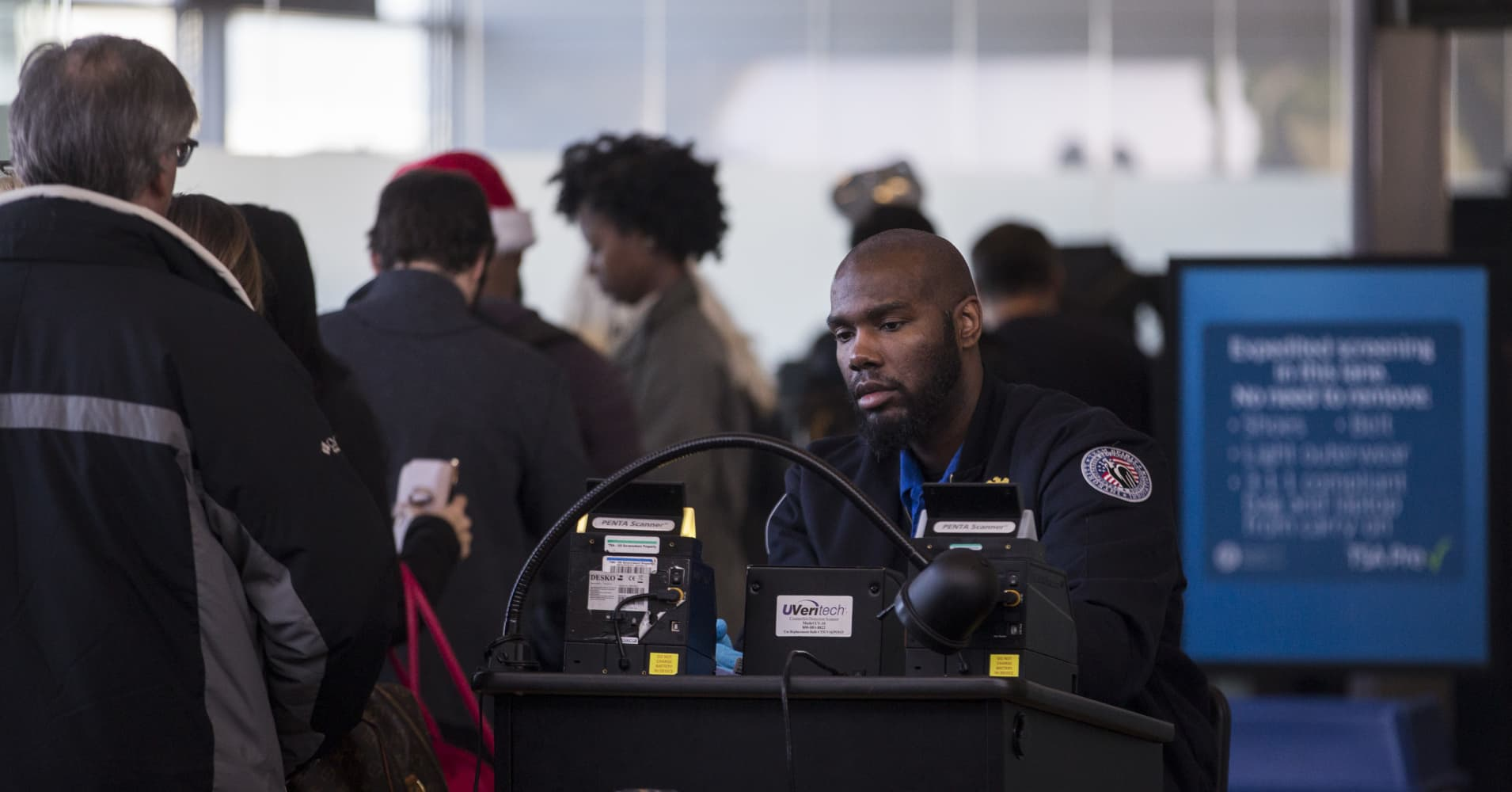 Amid shutdown, more TSA agents are calling in sick. Here's what you need to know