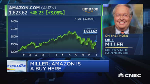 Bill Miller says Amazon will double in the next three years