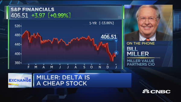Bill Miller doesn't see any signs of a slowdown