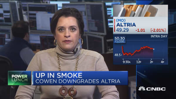 JUUL investment likely right move for Altria, says Cowen analyst