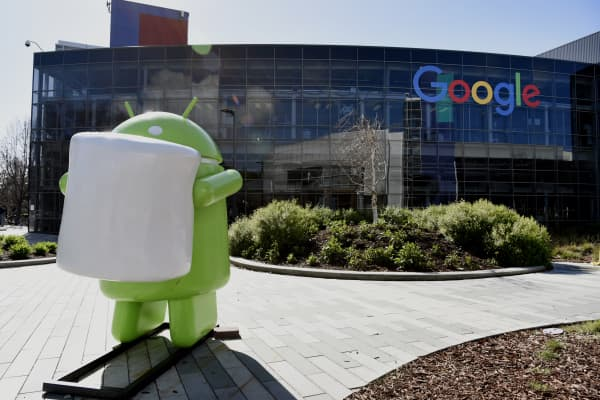 Googleplex headquarters in Mountain View, California.