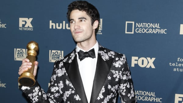 This is what happened when Darren Criss met his favorite actor