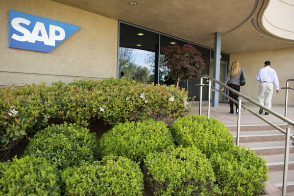 The SAP Ventures offices in Palo Alto, Calif.