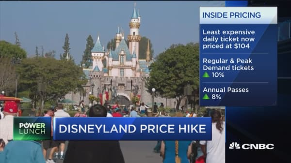 Disneyland hikes ticket prices before Star Wars land launch