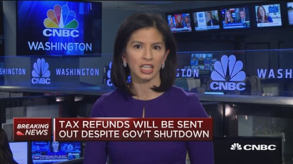 Tax refunds will be expelled notwithstanding supervision shutdown