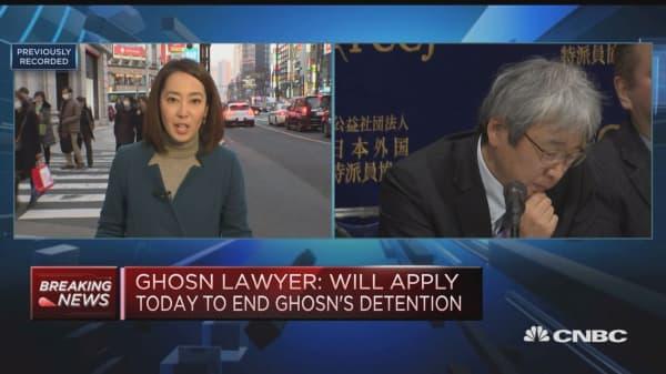 Ghosn lawyer: No reason to detain former Nissan chairman