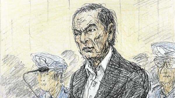 Ousted Nissan Chairman Carlos Ghosn proclaims his innocence in court