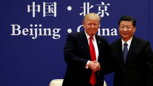 China and U. S meeting