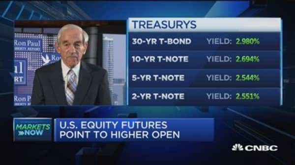 Former US Rep. Ron Paul: The Fed is too powerful