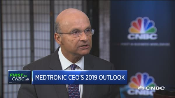 Medtronic CEO Omar Ishrak on Mazor X acquisition, 2019 outlook