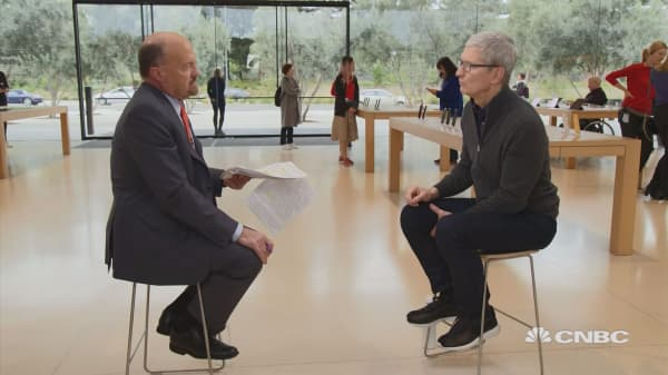 Apple's ecosystem is 'probably underappreciated' by naysayers: CEO Tim Cook