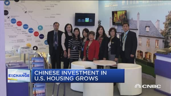 Chinese investment in US housing grows