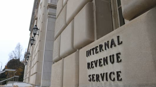 The Internal Revenue Service (IRS) headquarters in Washington, D.C.