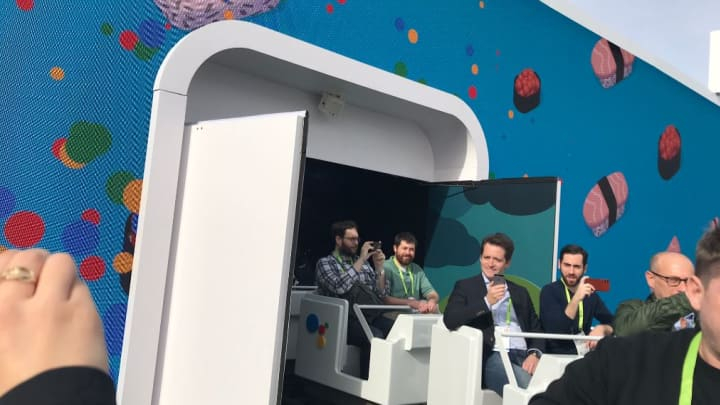 Google's ride at CES 2019
