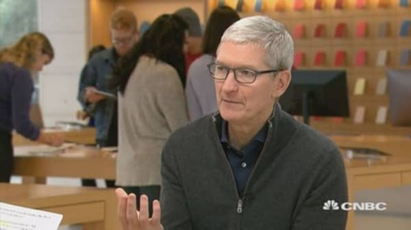 Tim Cook: Trade agreement needs to be updated