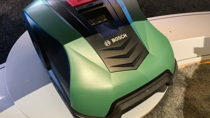 A lawnmower from Bosch that works with Alexa.