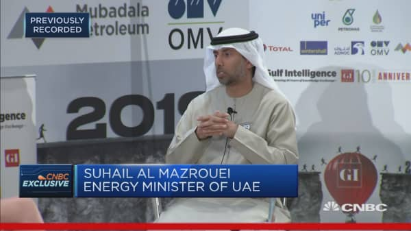 Demand for oil is growing at a healthy rate: UAE oil minister