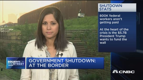 Government shutdown drags on over border security fight