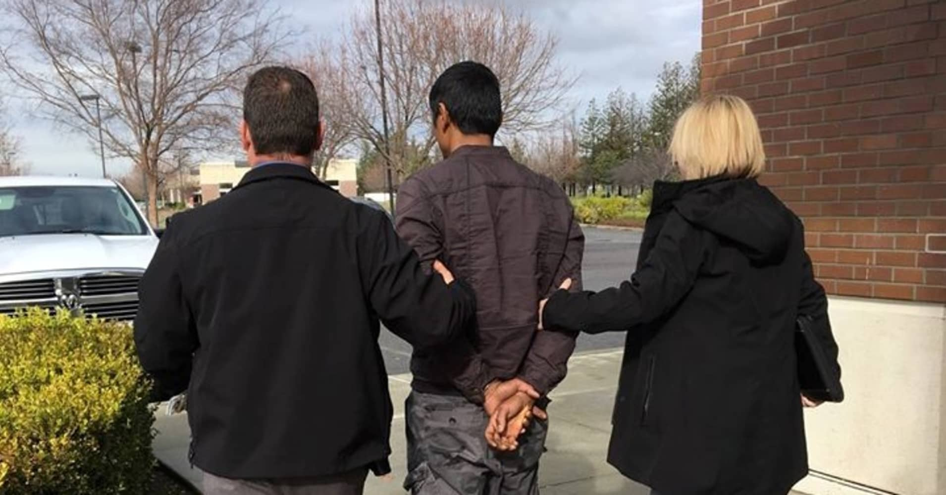 Authorities in Vacaville, California arresting 35-year-old Adul Saosongyang for allegedly stealing his roommate's scratch-off lottery ticket worth $10 million.