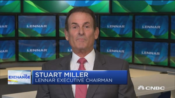 The Fed's interest rate hikes and rise in home prices led to housing market sluggishness, says Lennar Chairman