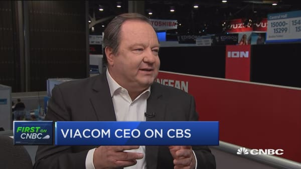 Lot of demand to fill is great for Viacom, says CEO Bob Bakish