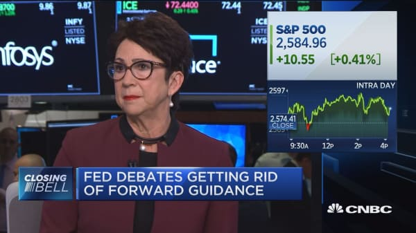 The Fed's change in tone gives the market much more confidence, says Nancy Tengler