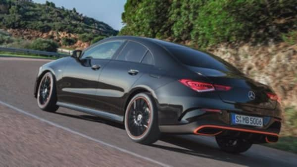 Mercedes CLA coupe loaded with tech, a pitch to millennial luxury buyers