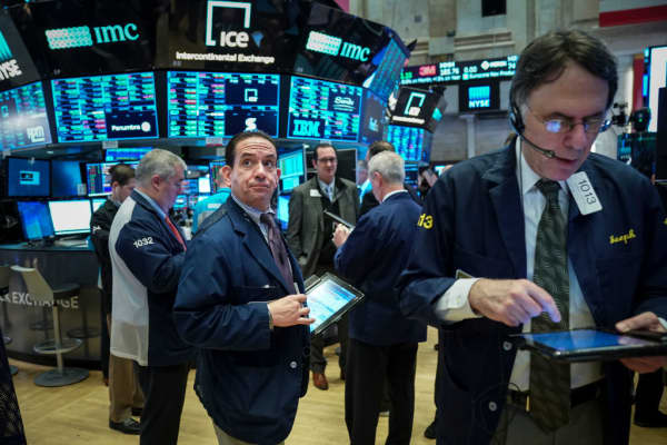 U.S. stock futures fall following new data out of China