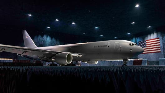 Boeing's KC-46 tanker for the U.S. Air Force.