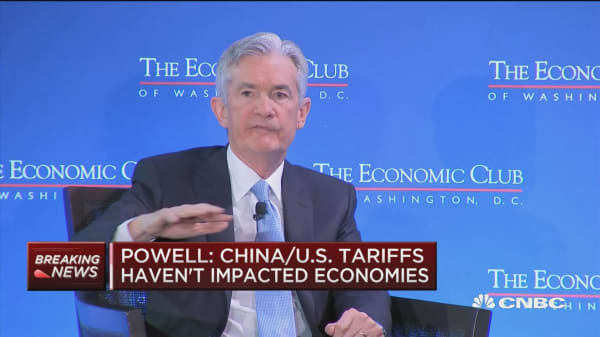 Fed's Powell says he's very worried about amount of US debt